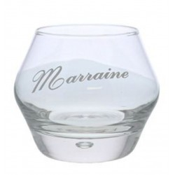 "Verre à whisky ""marraine"""