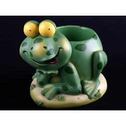 Grenouille pot