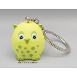 Hibou Tyto2 lemon porte-clés
