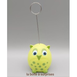 Hibou Tyto2 lemon porte-photo