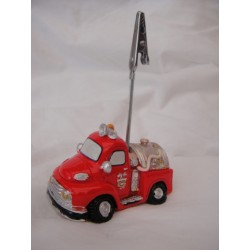 Camion pompier porte-photo