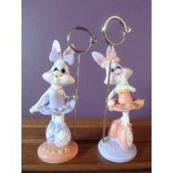 Lapin bunny fille porte-photo