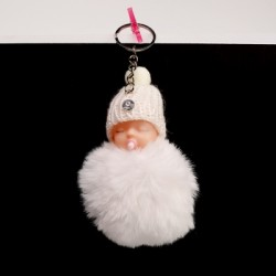 Bébé pompon porte-clés...