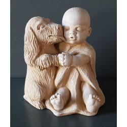 Bébé et son chien