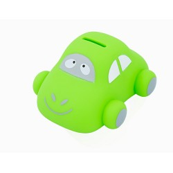 Voiture Sammy lime tirelire...